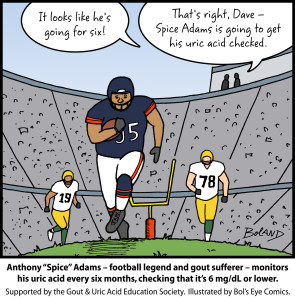 Gout-cartoon Anthony-Adams